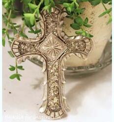 Kors med glitter